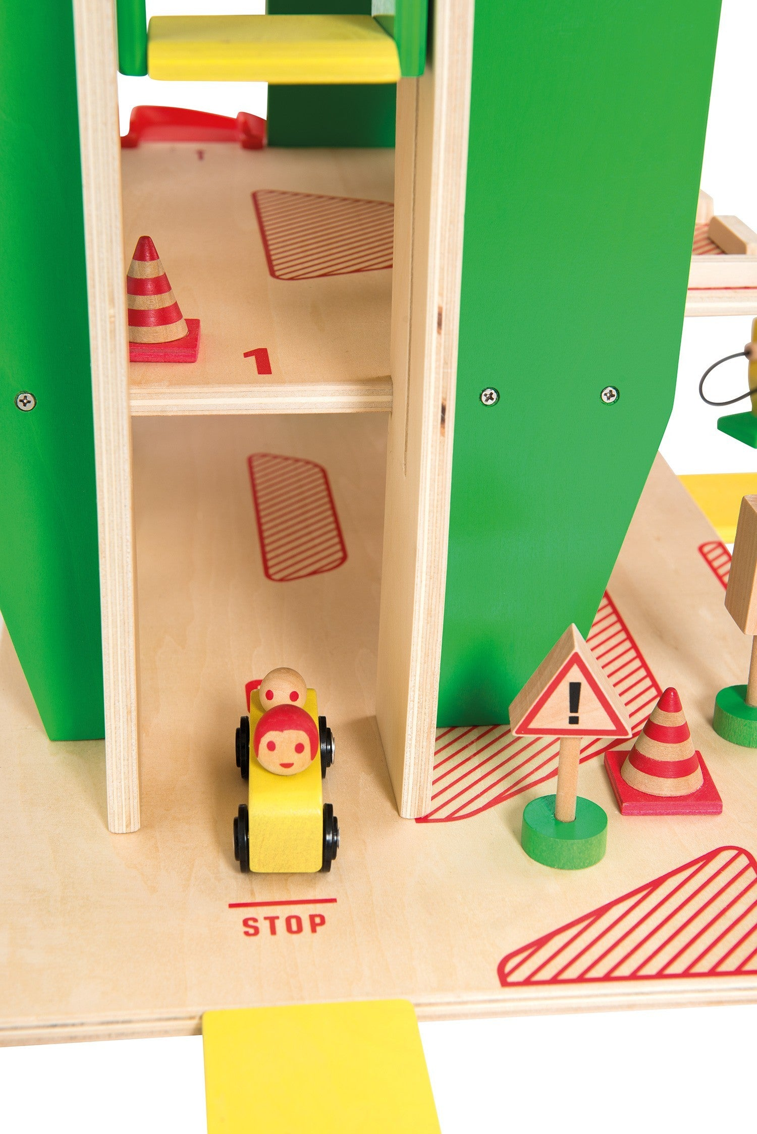 Moulin Roty wooden garage - OFFER