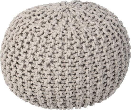 Crochet kids pouf