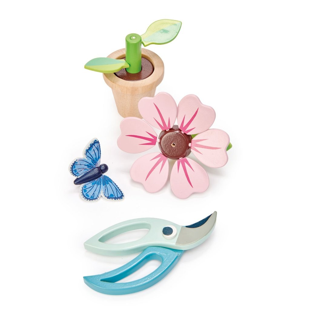 Blossom flower pot set