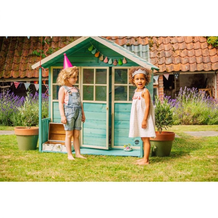 Plum Deckhouse wooden playhouse