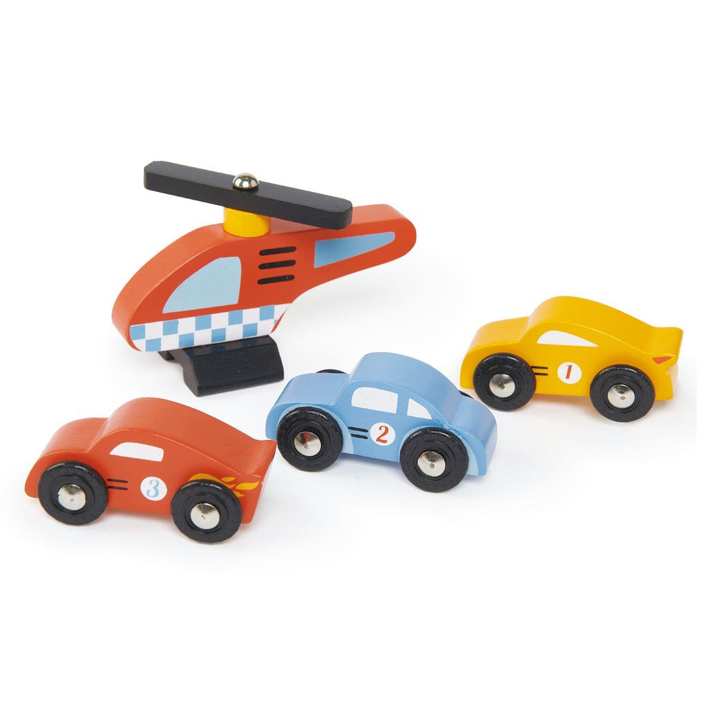 Tender Leaf Toys Wooden Garage