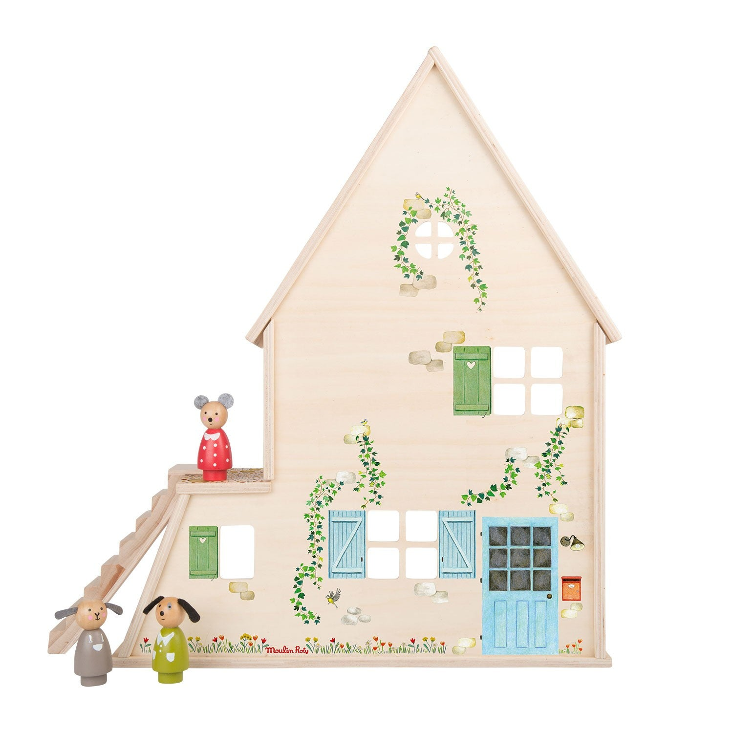 Moulin Roty wooden dolls House