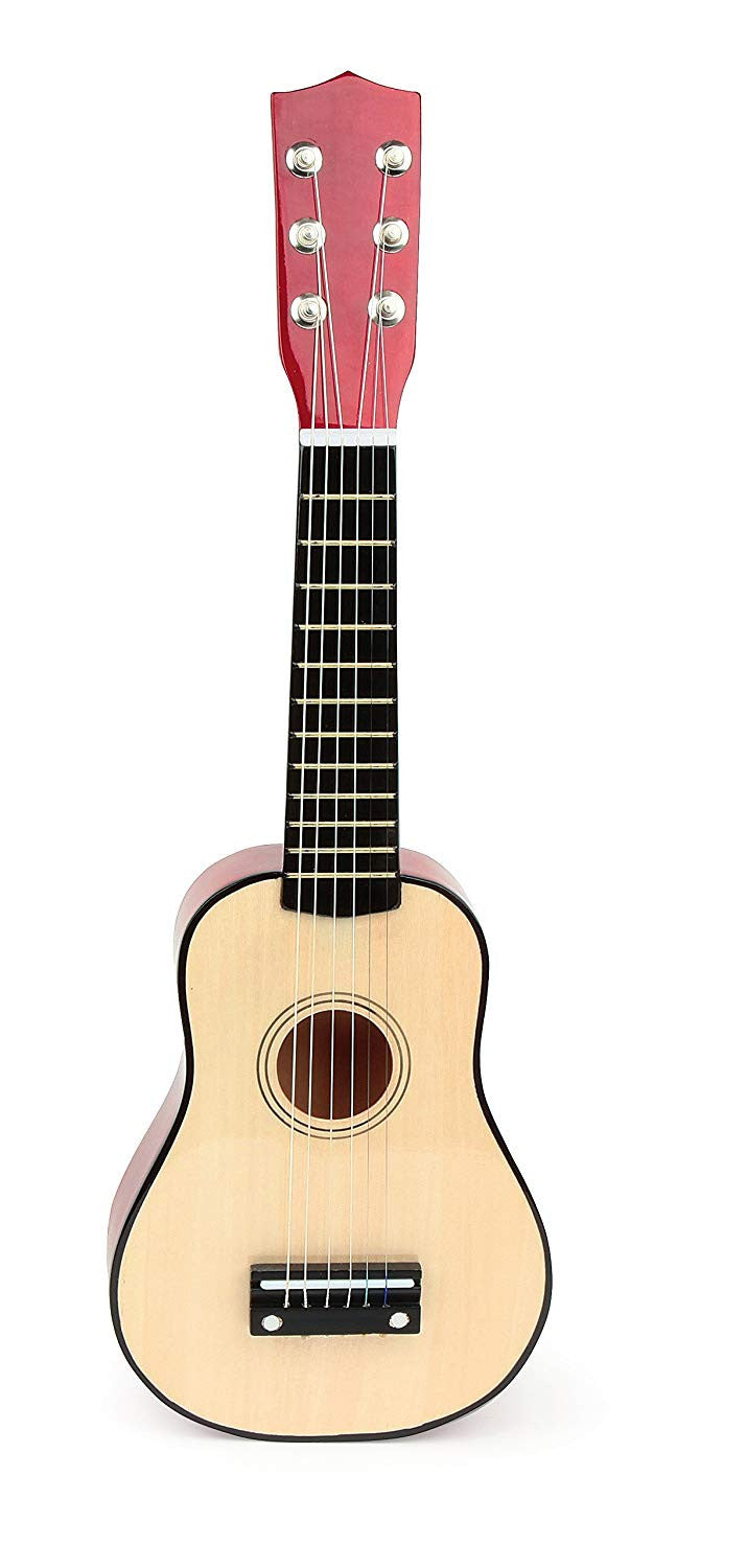 wooden children's guitar