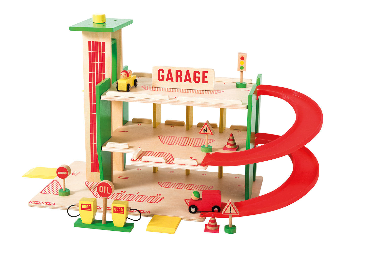 Moulin Roty wooden garage