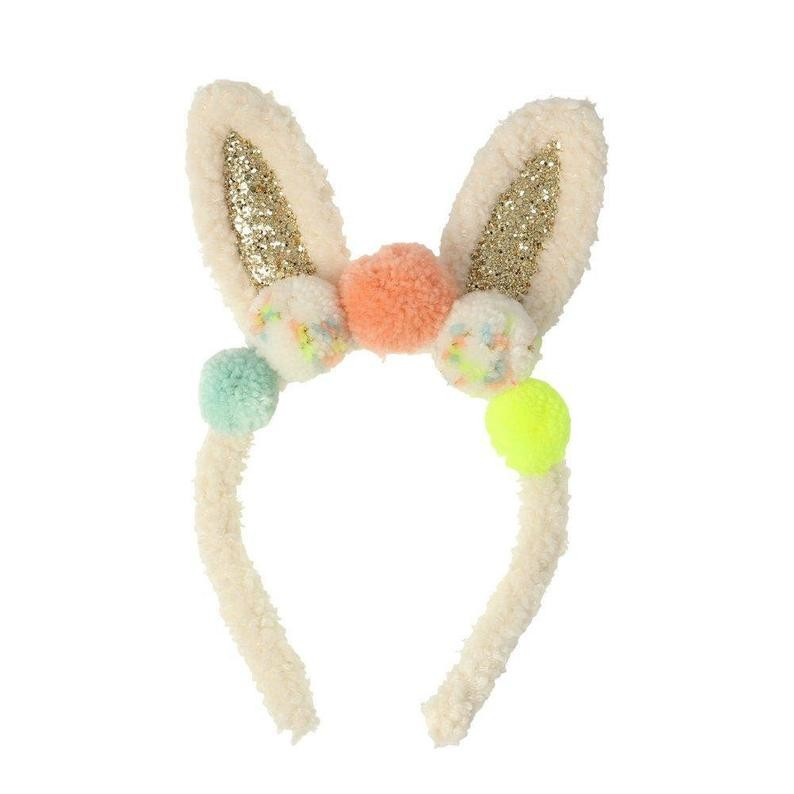 Pom pom bunny ear dressing up set Meri Meri