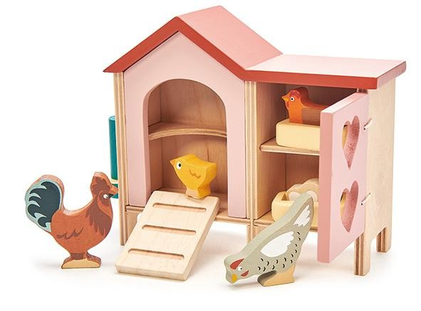 Chicken coop Tender Leaf toys