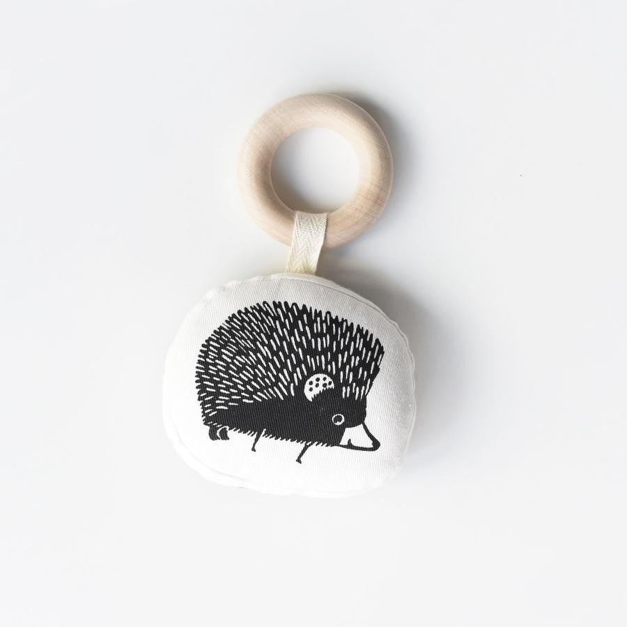 Organic teething ring Hedgehog