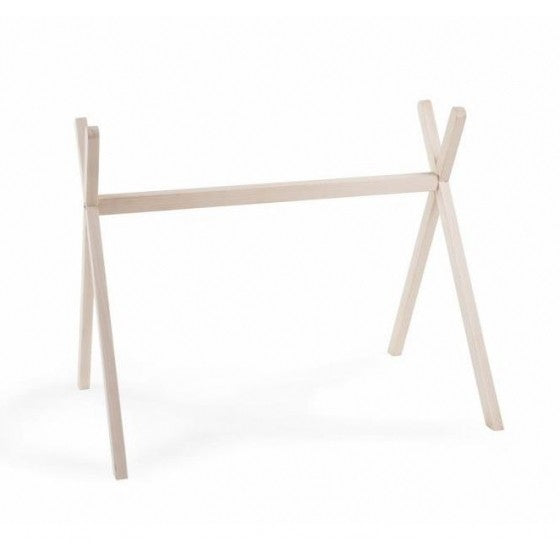 Wooden baby gym Natural