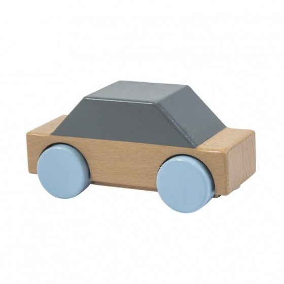 Sebra Interior wooden car grey