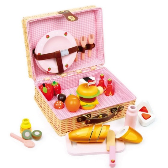 Children's picnic basket set