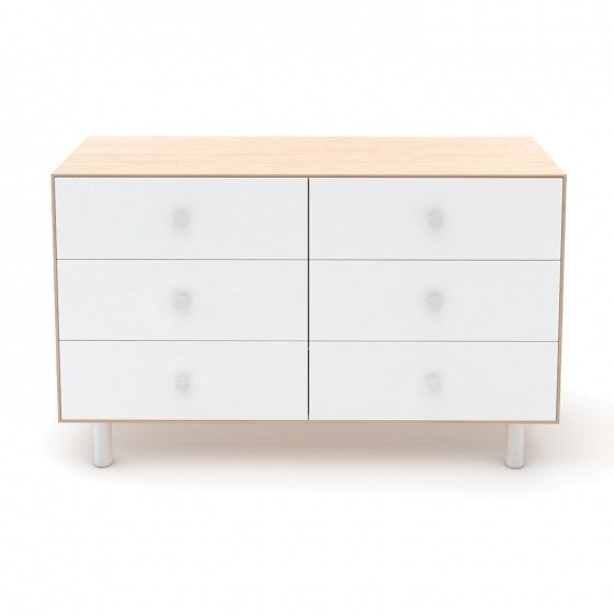 Oeuf NYC Merlin 6 drawer dresser in Birch