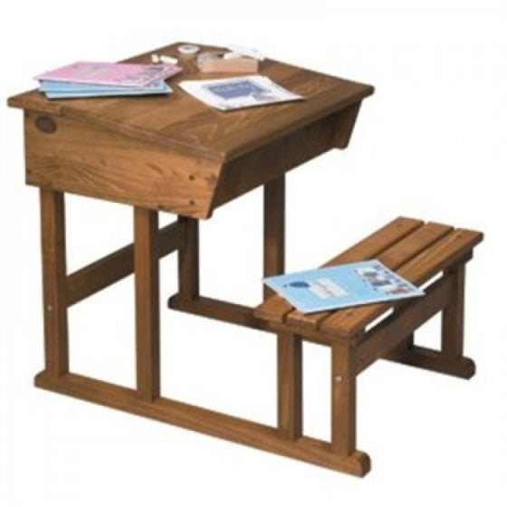 wooden desk and chair - Moulin Roty