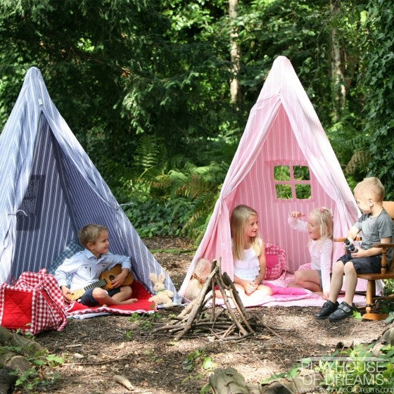 Natural stripe - Teepee tent