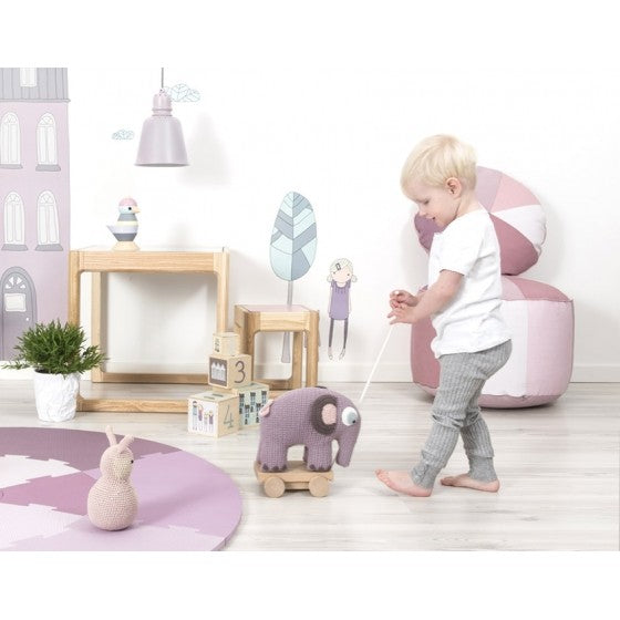 Babies pastel coloured soft playmat - Sebra Interior