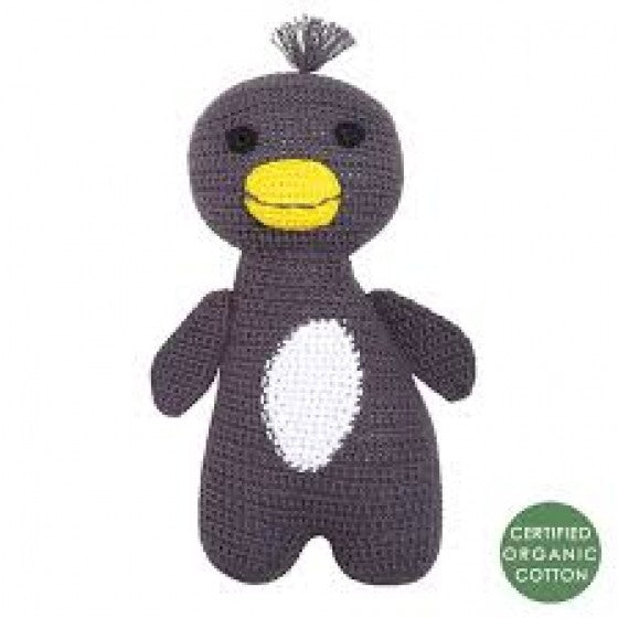 Franck and Fischer Amigo organic crochet baby toy