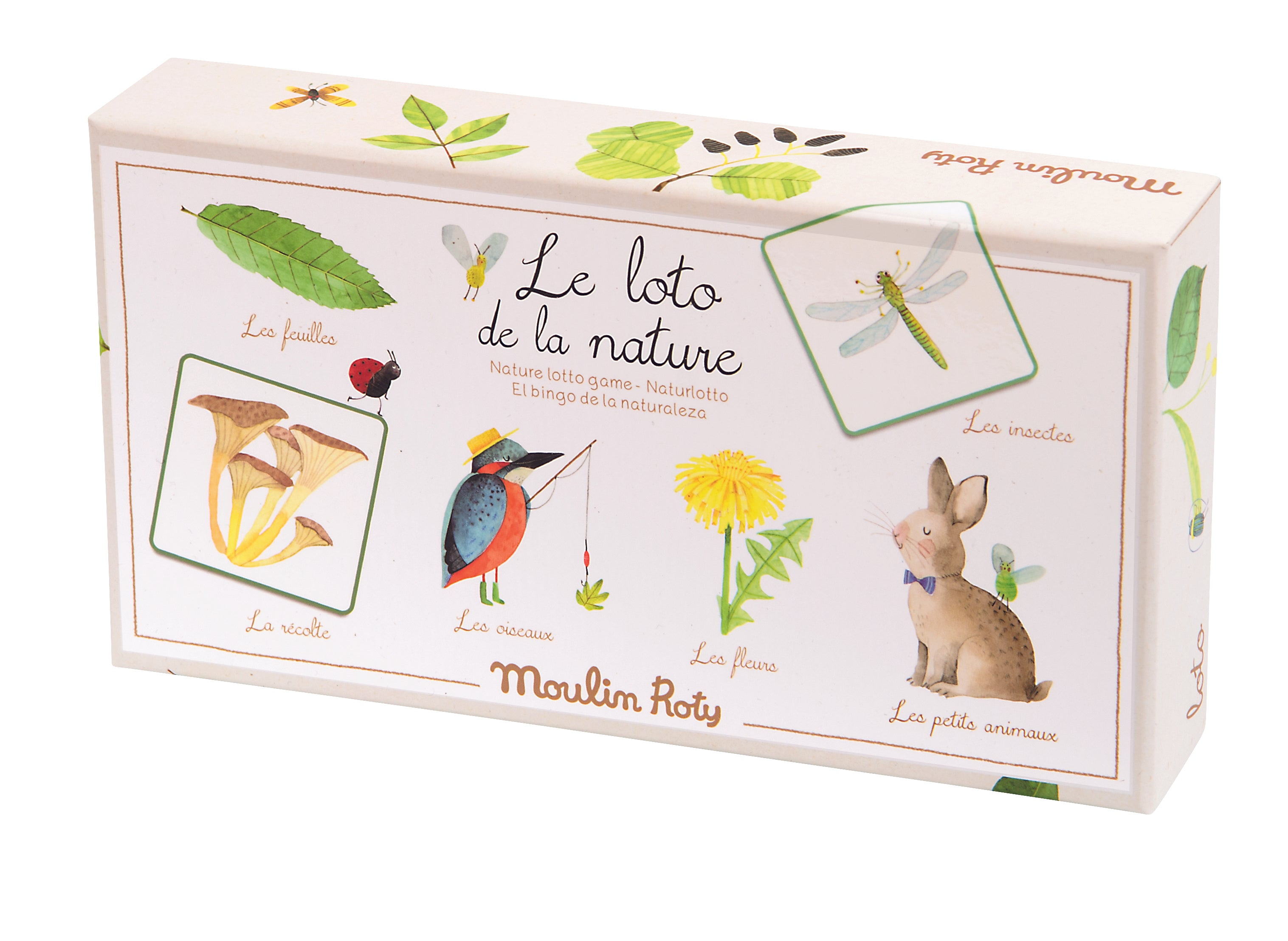 Moulin Roty Nature Lotto Game