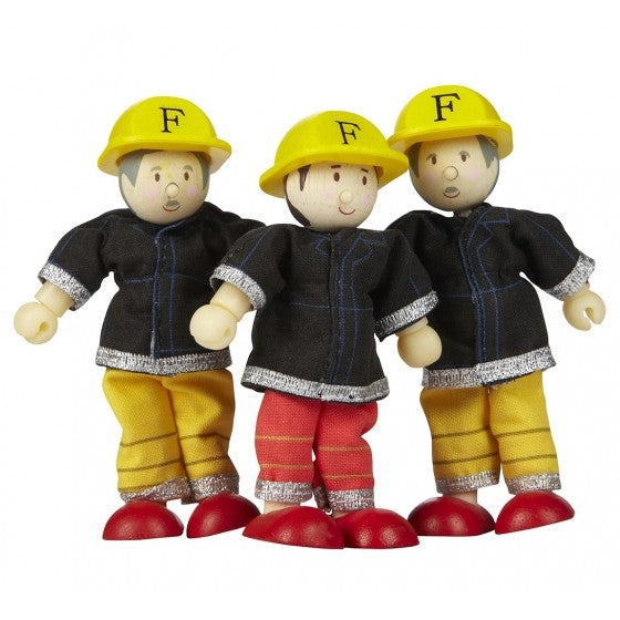 Budkins Firefighters gift pack - Le toy Van