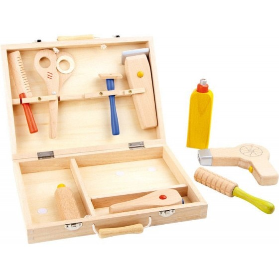 Children's wooden hairdressers set