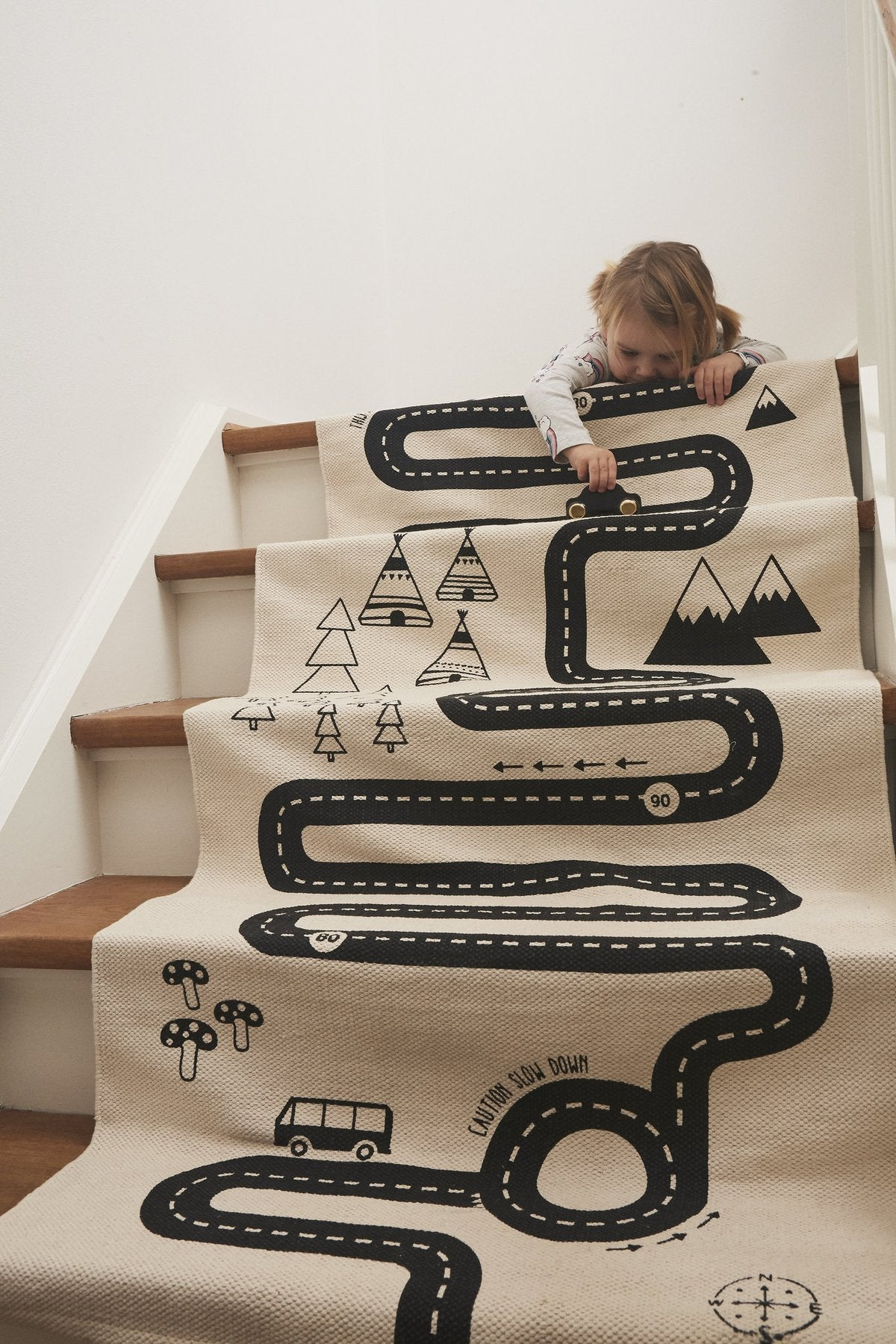 OYOY Adventure Rug Off white
