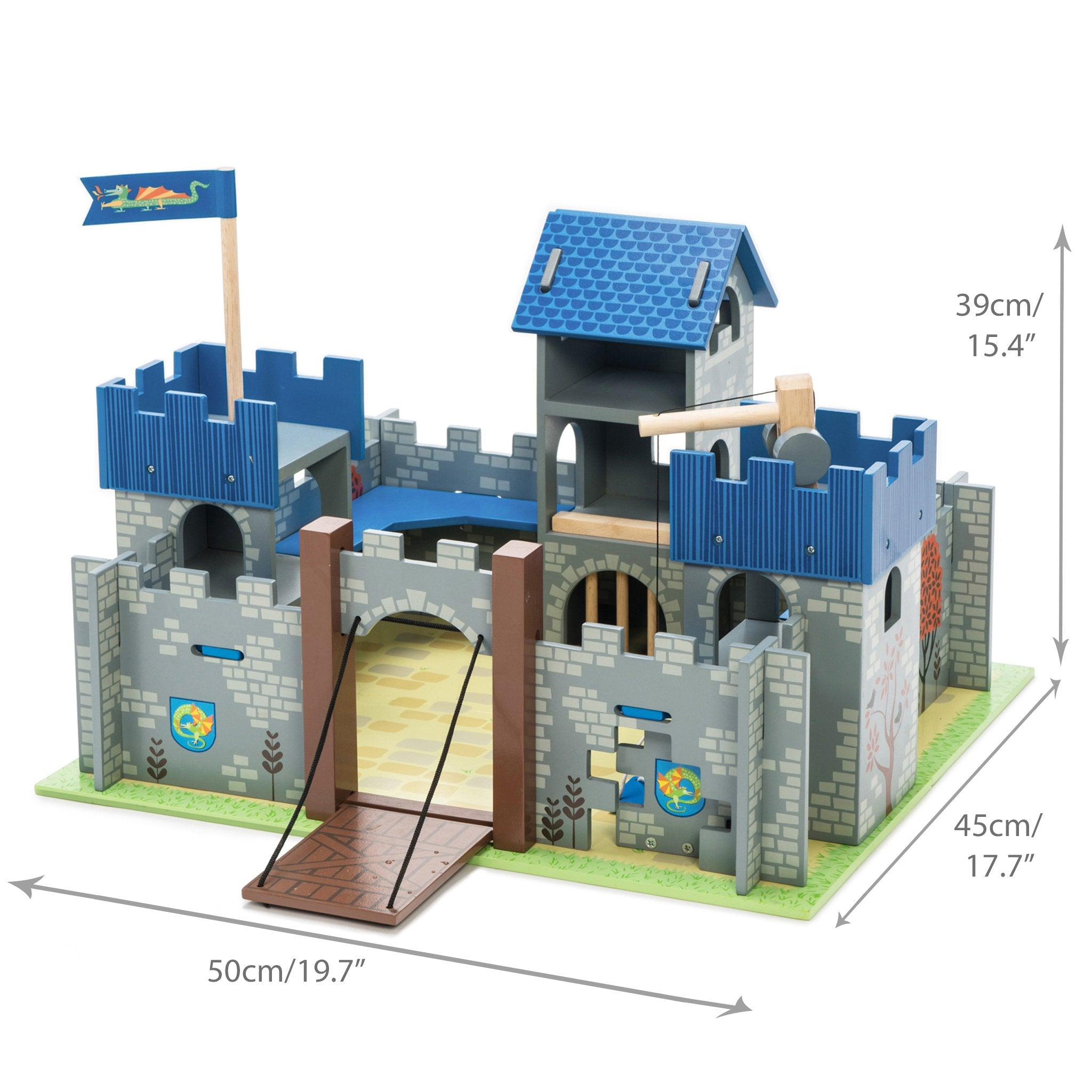 Excalibur Wooden Toy Castle For Children- Le Toy Van