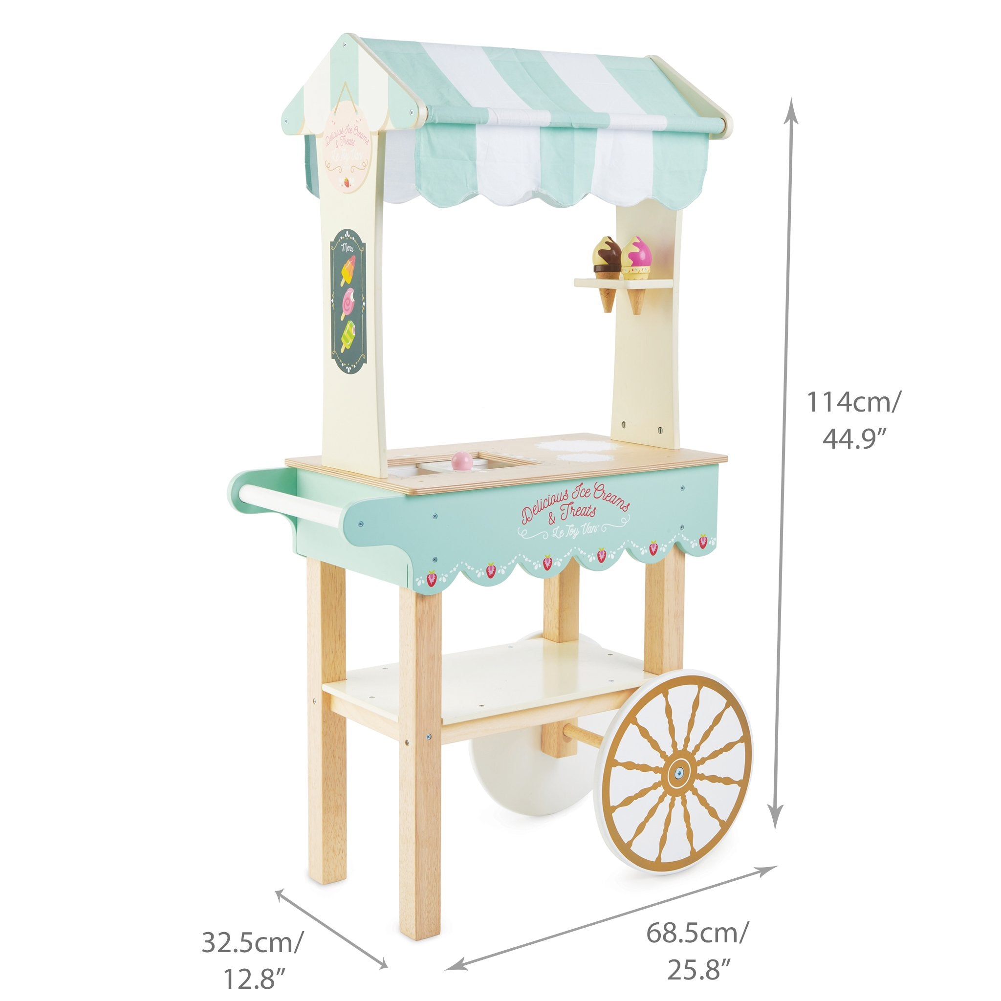 Le Toy Van Ice Cream Cart