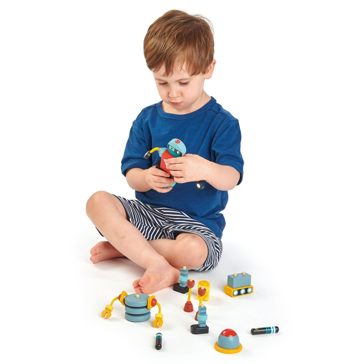 Tender Lear Toys Robot Construction