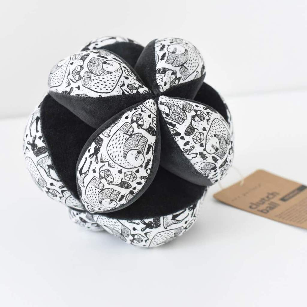 Wee Gallery Sensory puzzle ball woodland