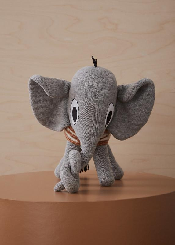 OYOY mini Henry elephant soft toy