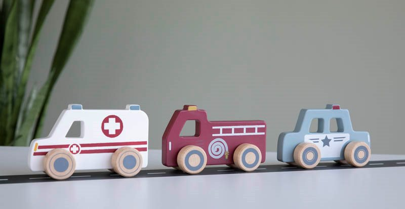 Little Dutch emergency vehicles