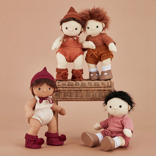 Dinkum doll snuggly set Rose