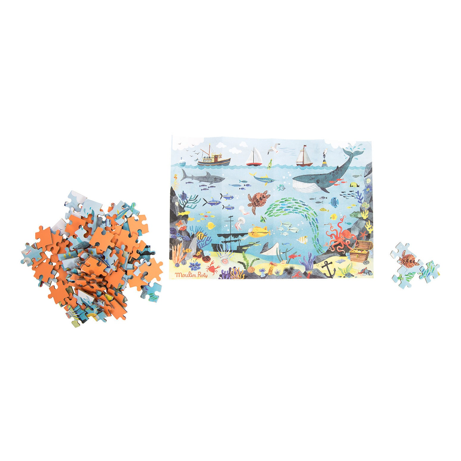 Moulin Roty Ocean Puzzle