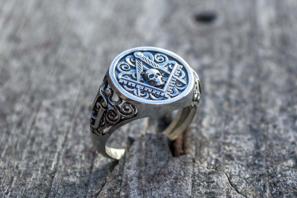 Ring with Masonic