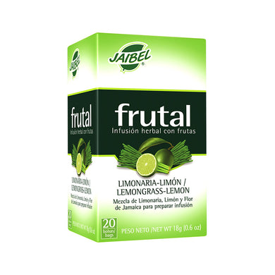 AROMATICA INFUSION HERBAL FRUTAL LIMONARIA-LIMON X 20 UD
