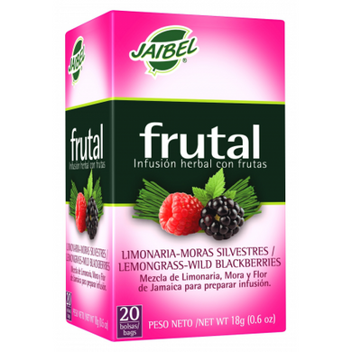 AROMATICA INFUSION HERBAL FRUTAL LIMONARIA-MORAS SILVESTRES X 20 UD