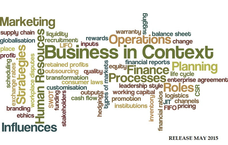 Business in Context : Newsletter