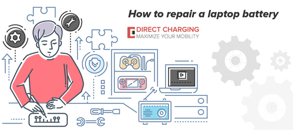 How to repair a laptop battery