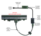 External Laptop Battery Charger for Acer Aspire E5-521, E5-551, E5-571, AL14A32 1