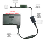 External Laptop Battery Charger for Dell Latitude C600 C640 C840 M50 75UYF 8M815 1