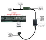 External Laptop Battery Charger for HP ENVY M4, M6, MO06, 671567-XXX, 671731-001 1