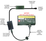 External Laptop Battery Charger for Lenovo ThinkPad P70, P71, 00HW030, 01AV451 1