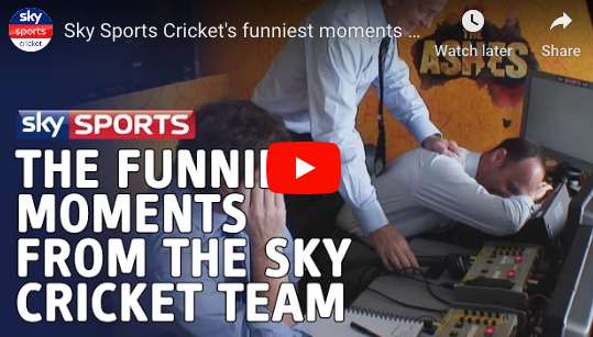 Sky Sports Cricket's funniest moments of the last 24 years