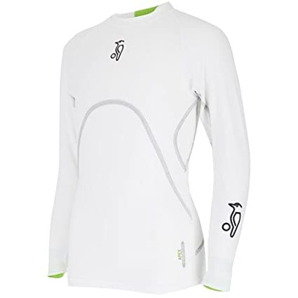 Kookaburra Skin Fit Base Layer White SMALL