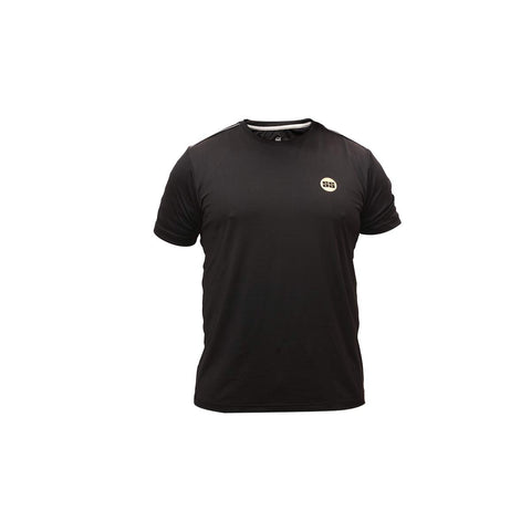 SS Falcon Round Neck T-Shirt (Color - Black) (Size - M)