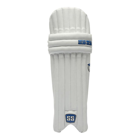 SS Academy Boys RH Batting Legguard (White)