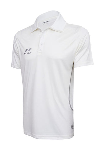 Nivia Lords Cricket Jersey Half Sleeves