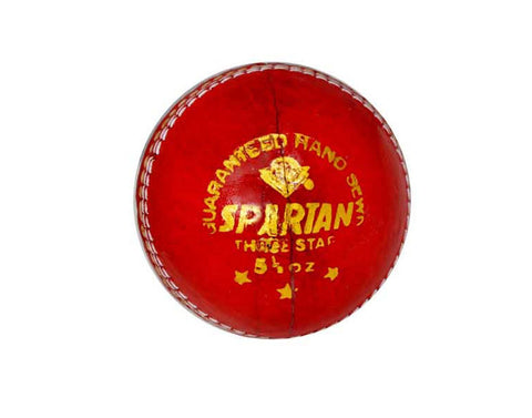 Spartan Red Leather Ball