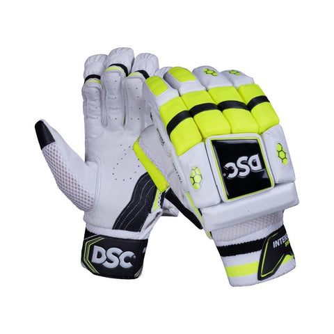 DSC Intense Shoc Leather Cricket Batting Gloves