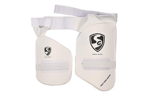 SG Combo Test Pro White RH Thigh Pad