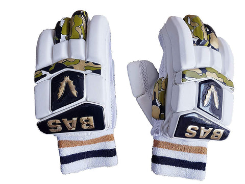 Bas Vampire Gold Batting Gloves - Limited Edition