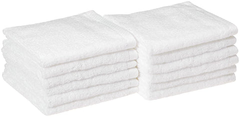 Quick-Dry Towel - Cotton - White